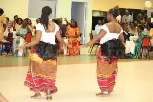 Baganda dancers