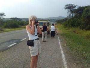 Tourist enroute